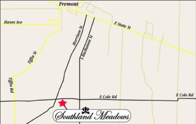 Southland Meadows Lot Map